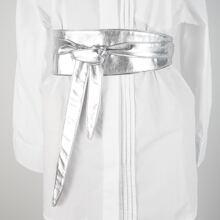 Metallic Knot Decor Belt