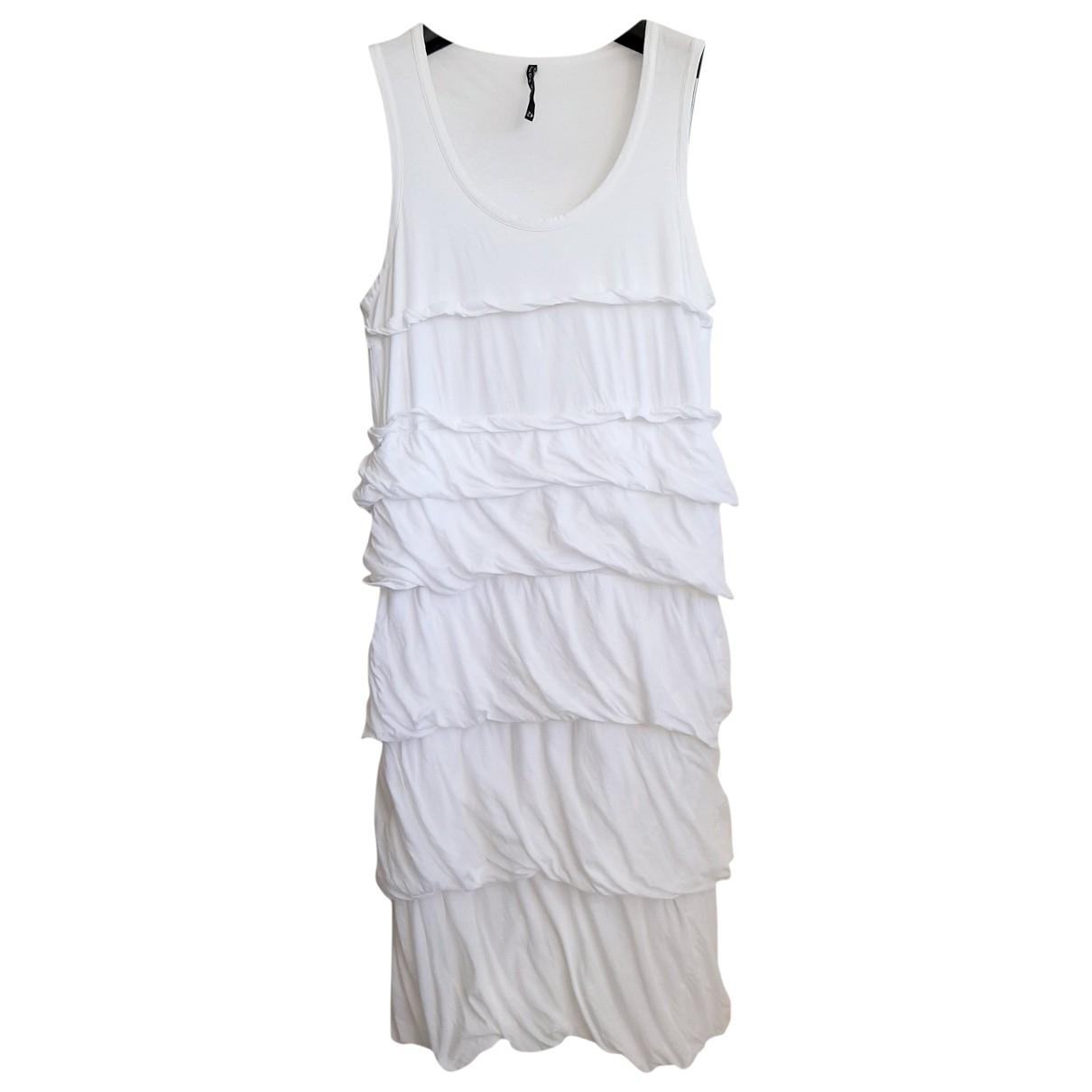 Liviana Conti - Robe   pour femme en coton - blanc