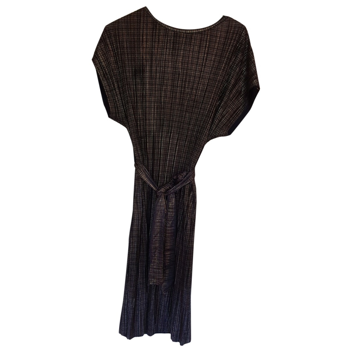Non Signé / Unsigned \N Navy dress for Women 36 FR