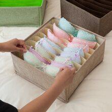 1pc 8 Grid Underwear Storage Box