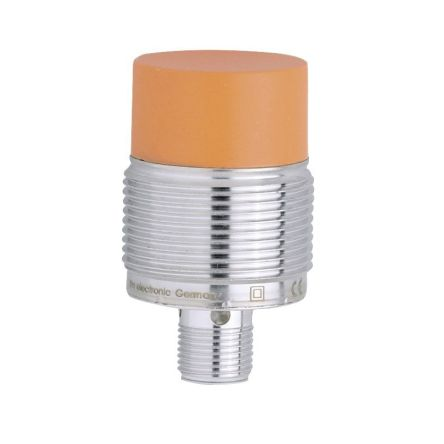 ifm electronic M30 x 1.5 Inductive Sensor - Barrel, PNP-NC Output, 22 mm Detection, IP67, M12 - 4 Pin Terminal
