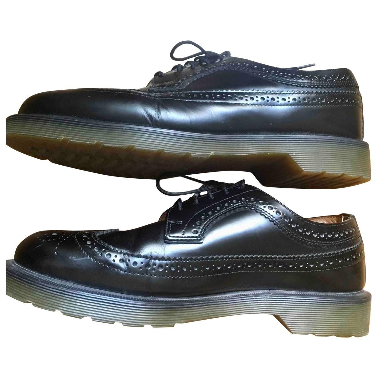 Dr. Martens \N Black Leather Lace ups for Men 42 EU