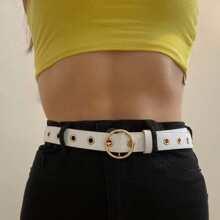 Grommet Buckle Belt