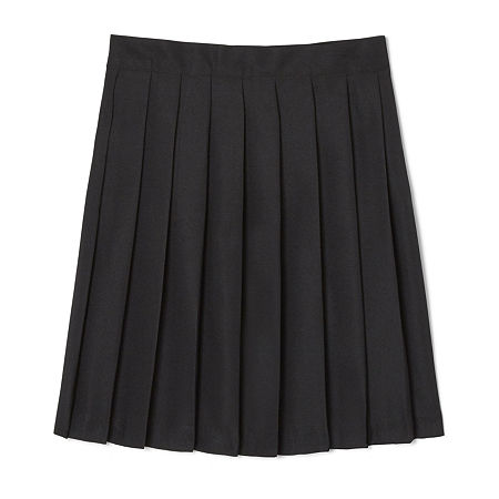 French Toast Little & Big Girls Pleated Skirt, 10.5 Plus , Black