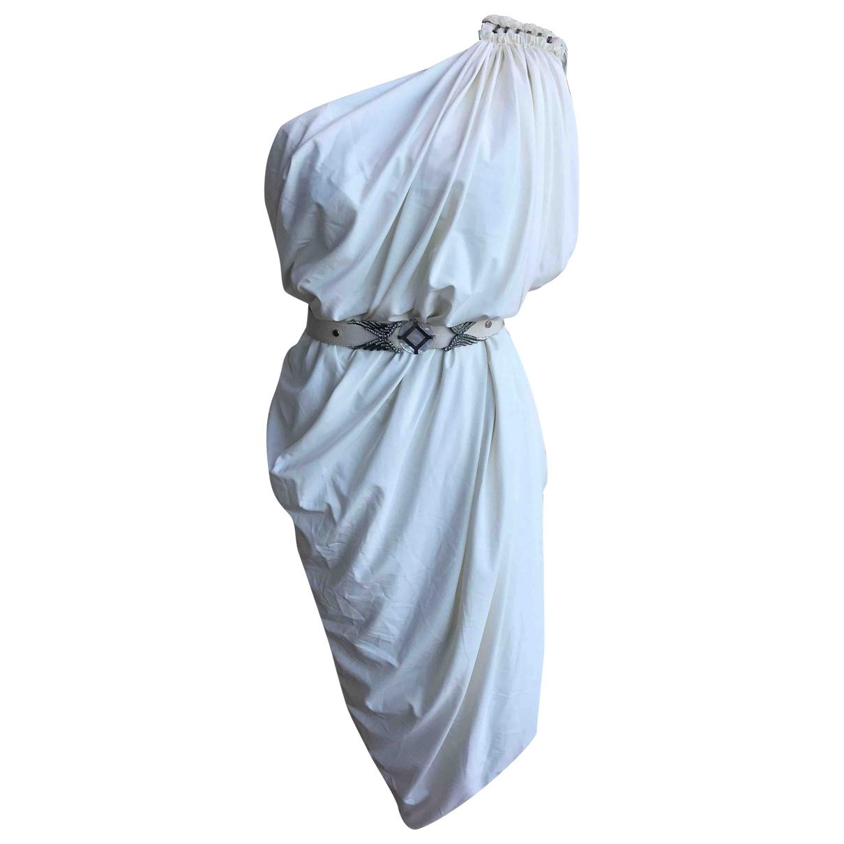 Lanvin - Robe   pour femme - blanc