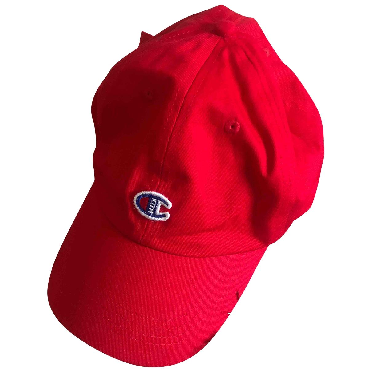 Kith - Chapeau & Bonnets   pour homme en coton - rouge
