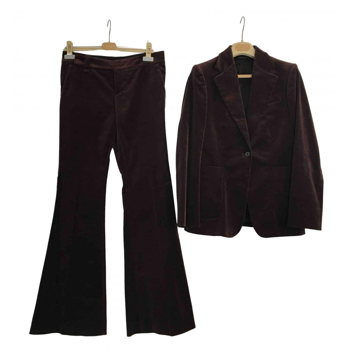 Gucci - Veste   pour femme en velours - violet
