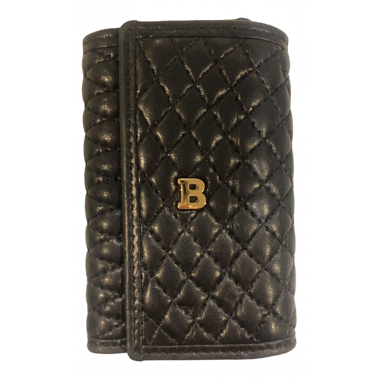 Bally N Black Leather Purses, wallet & cases for Women N