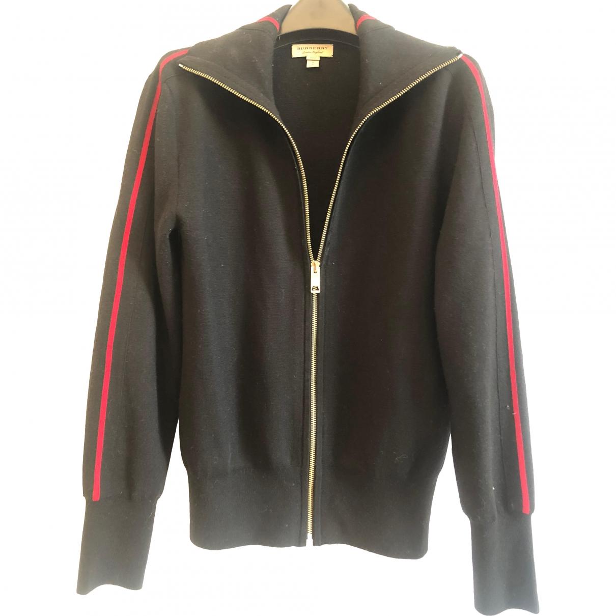 Burberry \N Black Wool Knitwear for Women 6 UK