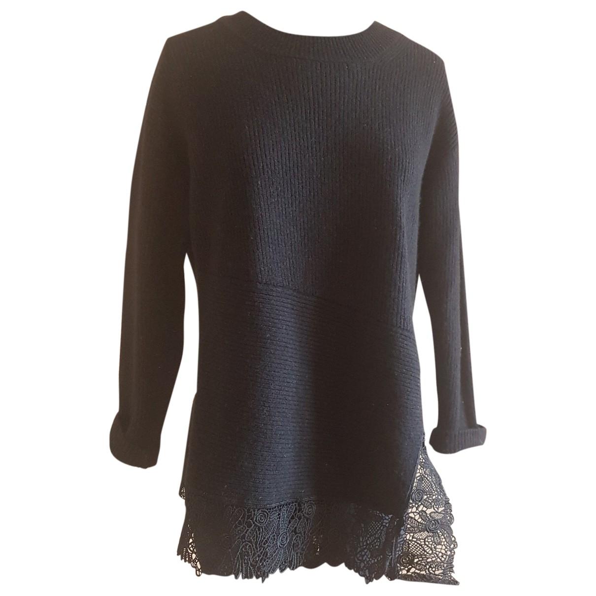 Sandro \N Black Cashmere Knitwear for Women 36 FR