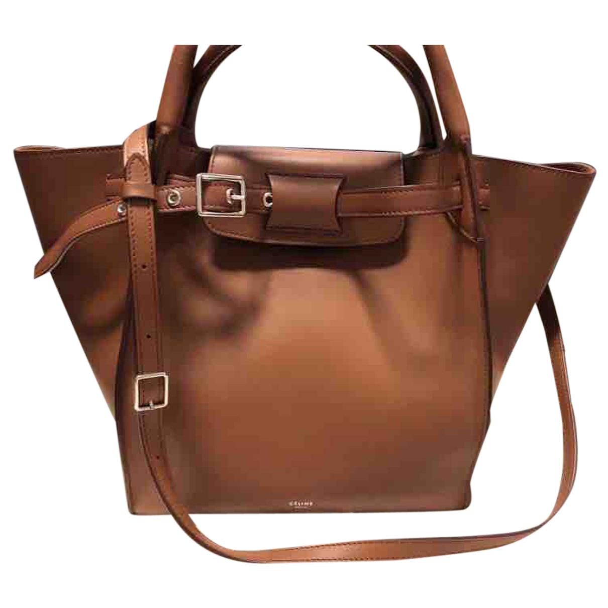 Celine Big Bag Brown Leather handbag for Women N