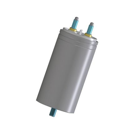 KEMET 33μF Polypropylene Capacitor PP 1.28 kV dc, 550 V ac ±10% Tolerance Stud Mount C44P-R Series (9)