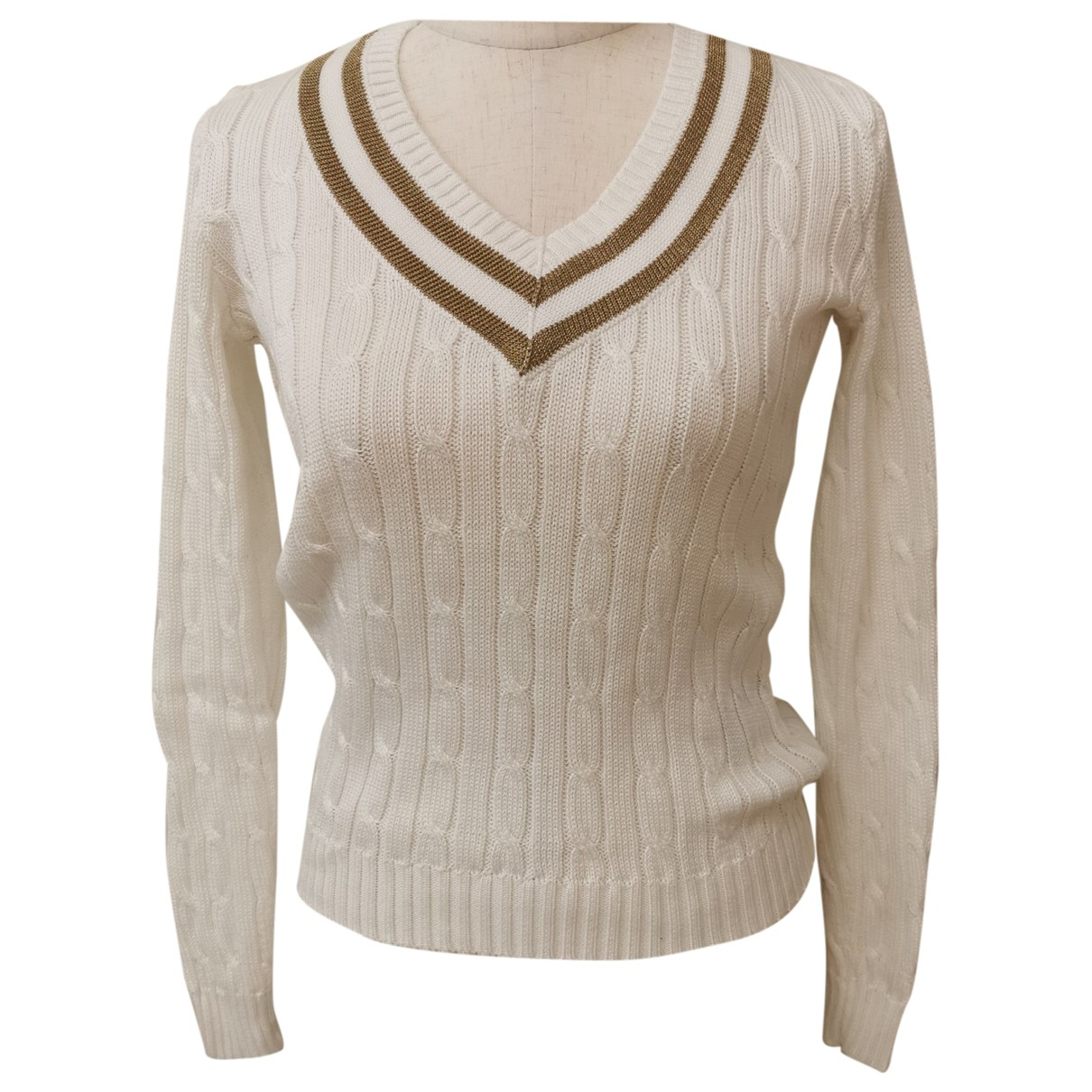 Ralph Lauren \N White Cotton Knitwear for Women S International