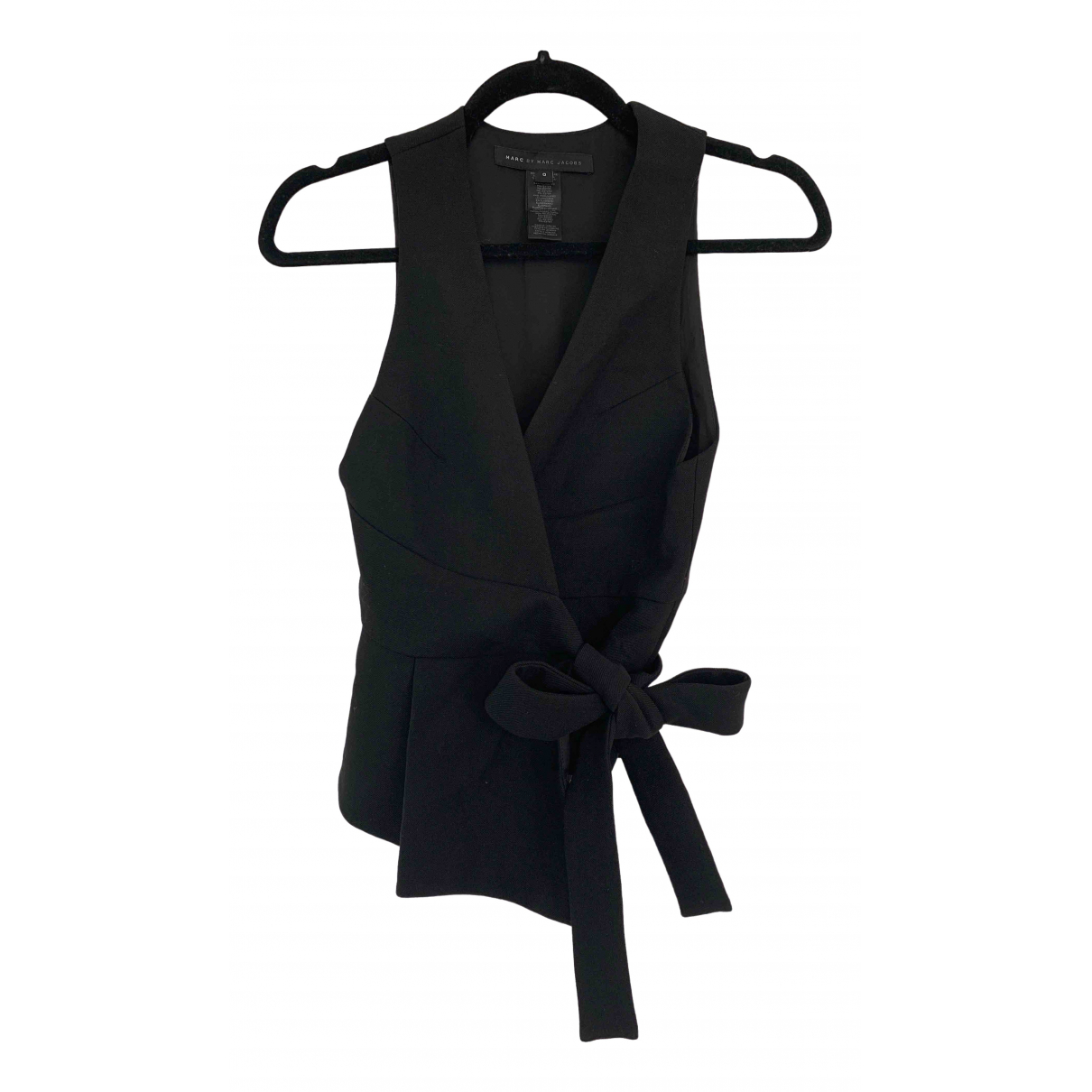 Marc By Marc Jacobs - Top   pour femme en laine - noir