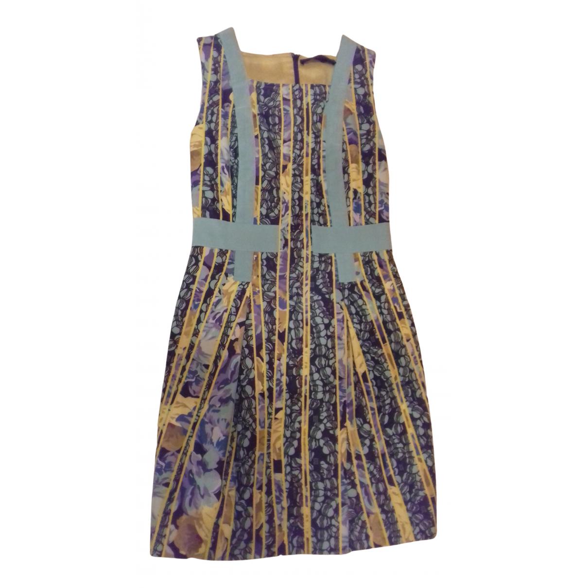 Versace Jeans \N Kleid in  Tuerkis Baumwolle