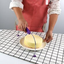 1pc Stainless Steel Cake Slicer Cutter