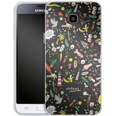 Samsung Galaxy J3 (2016) Silikon Handyhuelle - Penisgegenstaende - by einhorn von Einhorn