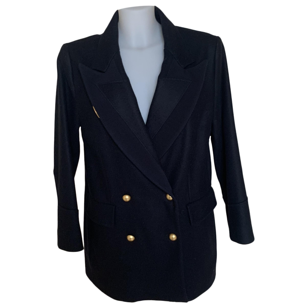 Ermanno Scervino - Veste   pour femme en laine - bleu