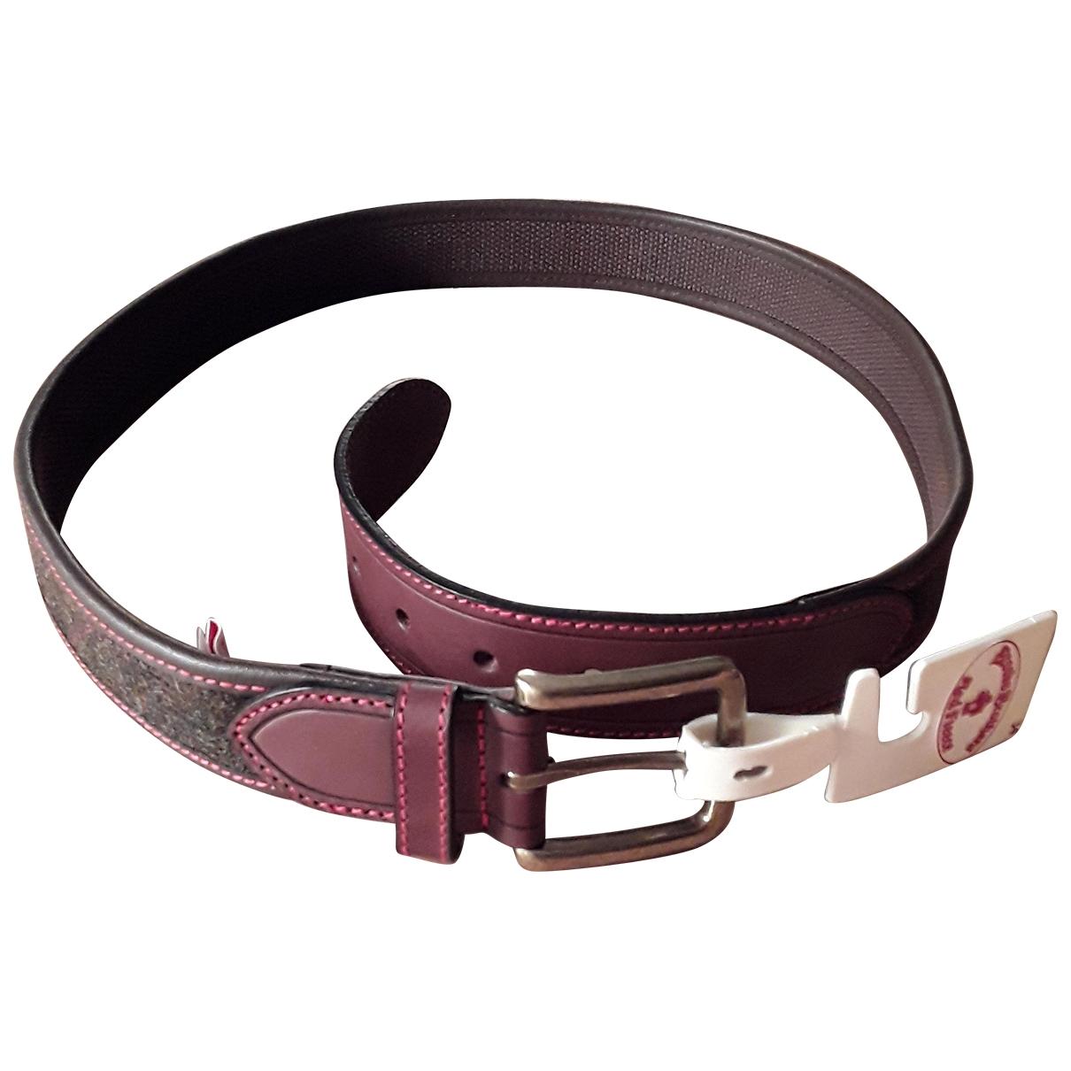 Cinturon de Cuero Brooks Brothers