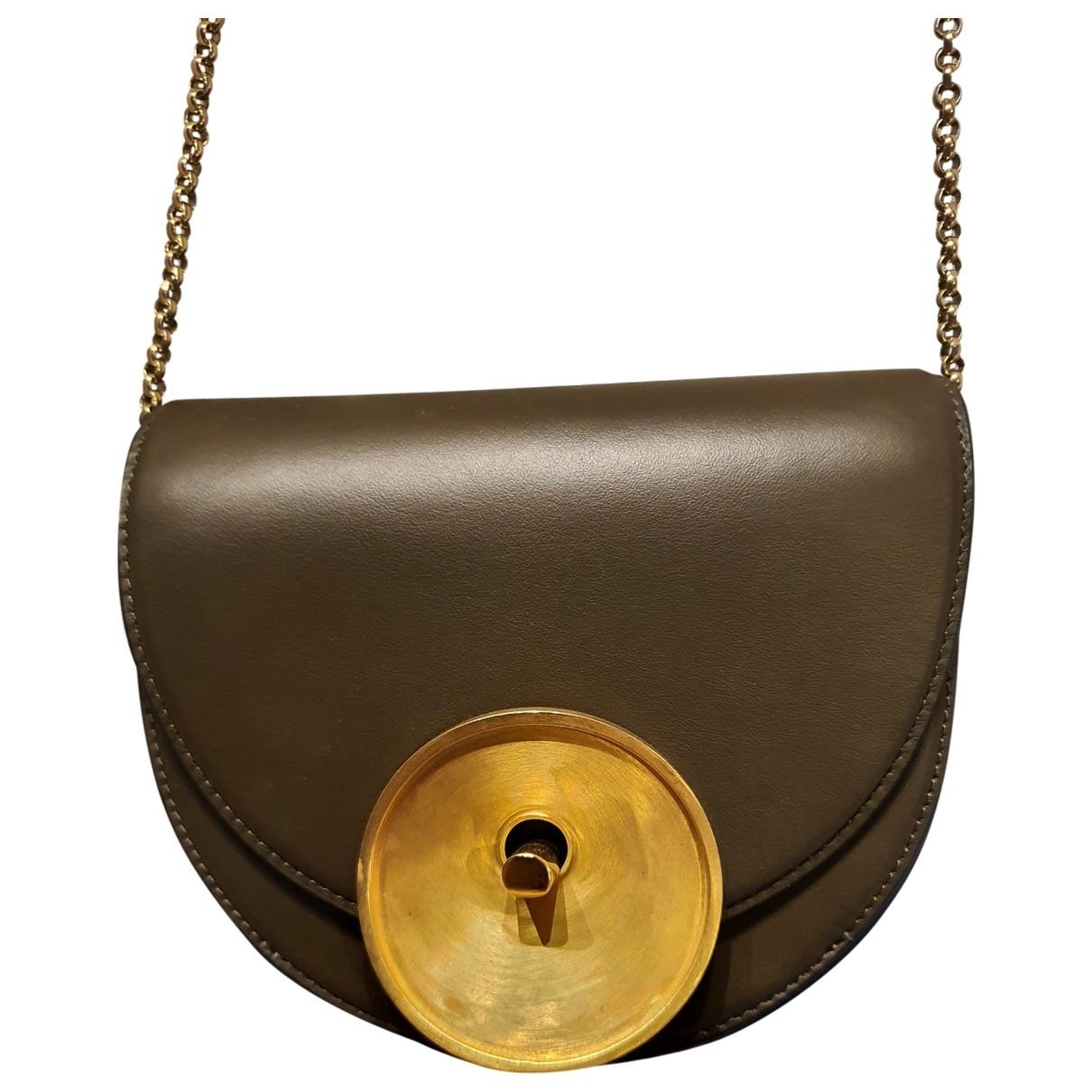 Marni Monile Brown Leather handbag for Women \N