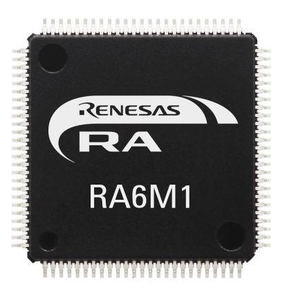 Renesas Electronics R7FA6M1AD3CFM#AA0 ARM Cortex M4F Processor & Microcontroller Development Kit (160)