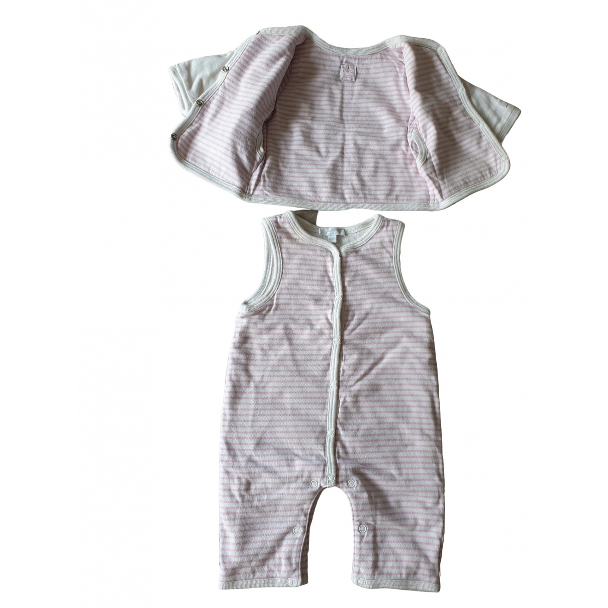 Jacadi \N Pink Cotton Outfits for Kids 1 months - up to 55cm FR