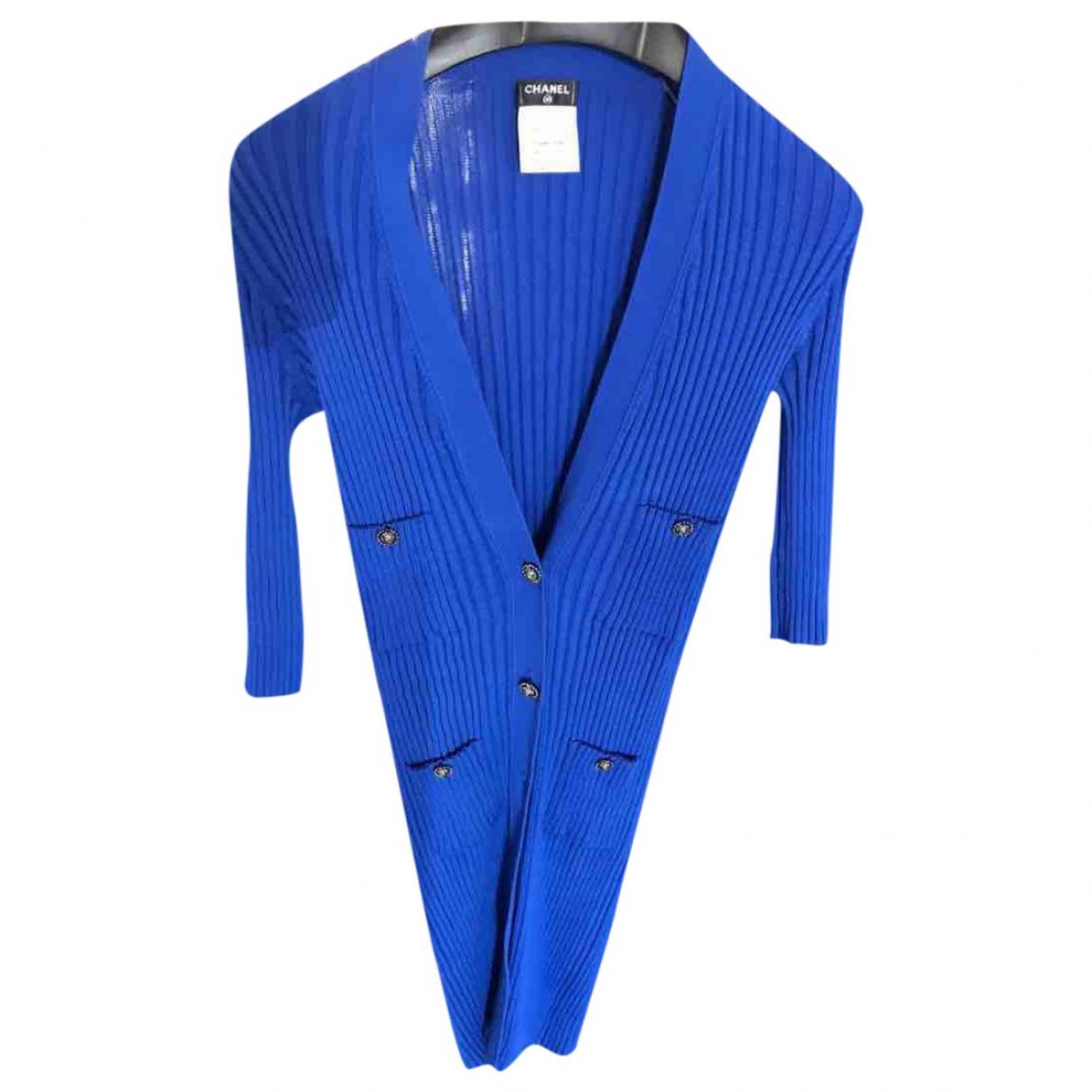 Chanel \N Blue Cotton Knitwear for Women 34 FR