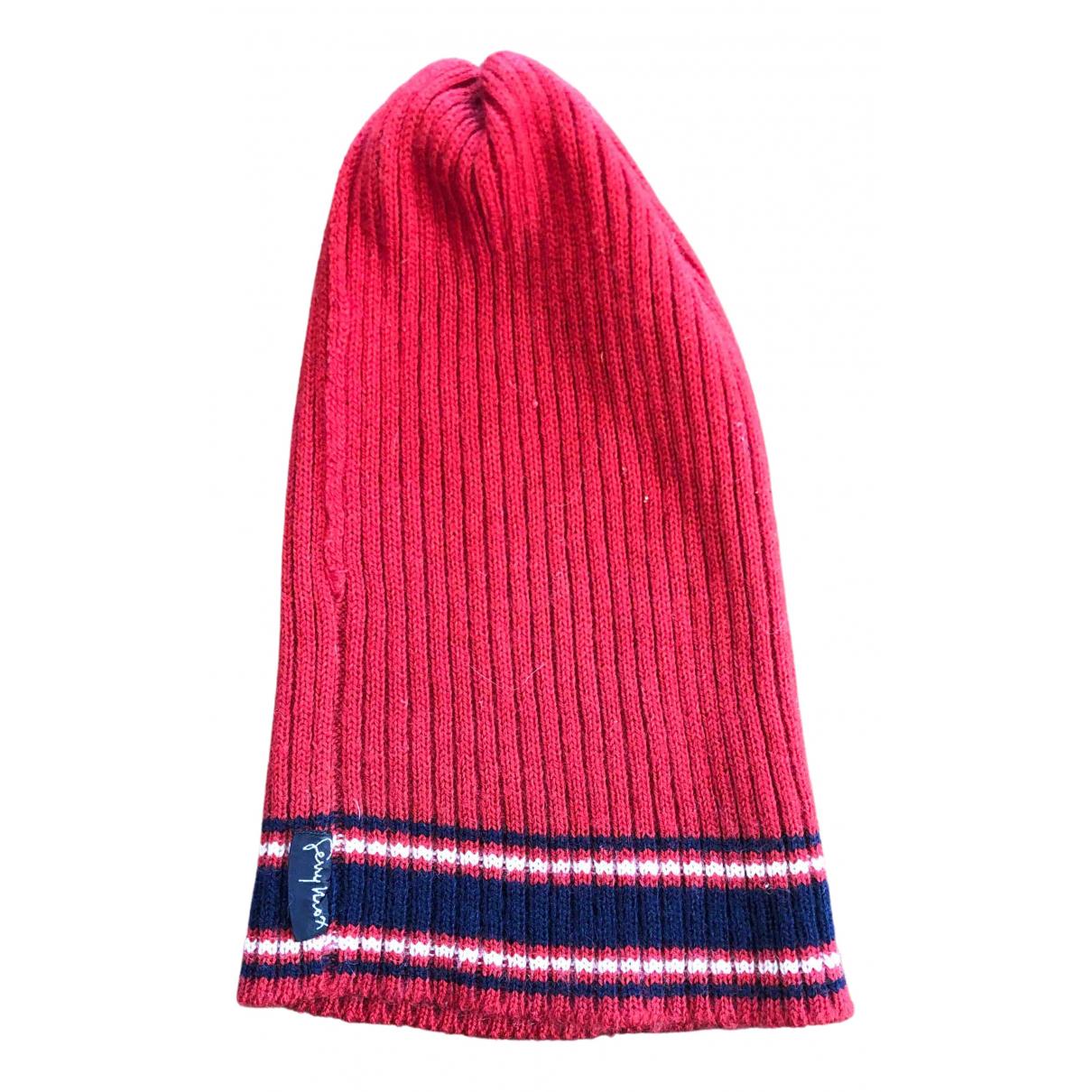 - Chapeau & Bonnets   pour homme en laine - rouge