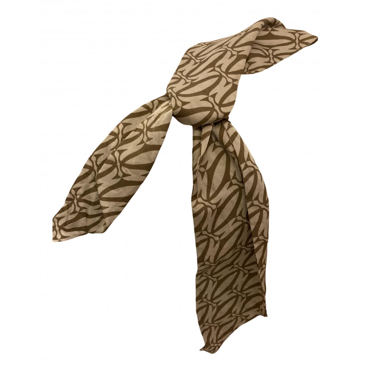Cartier N Beige Silk scarf for Women N
