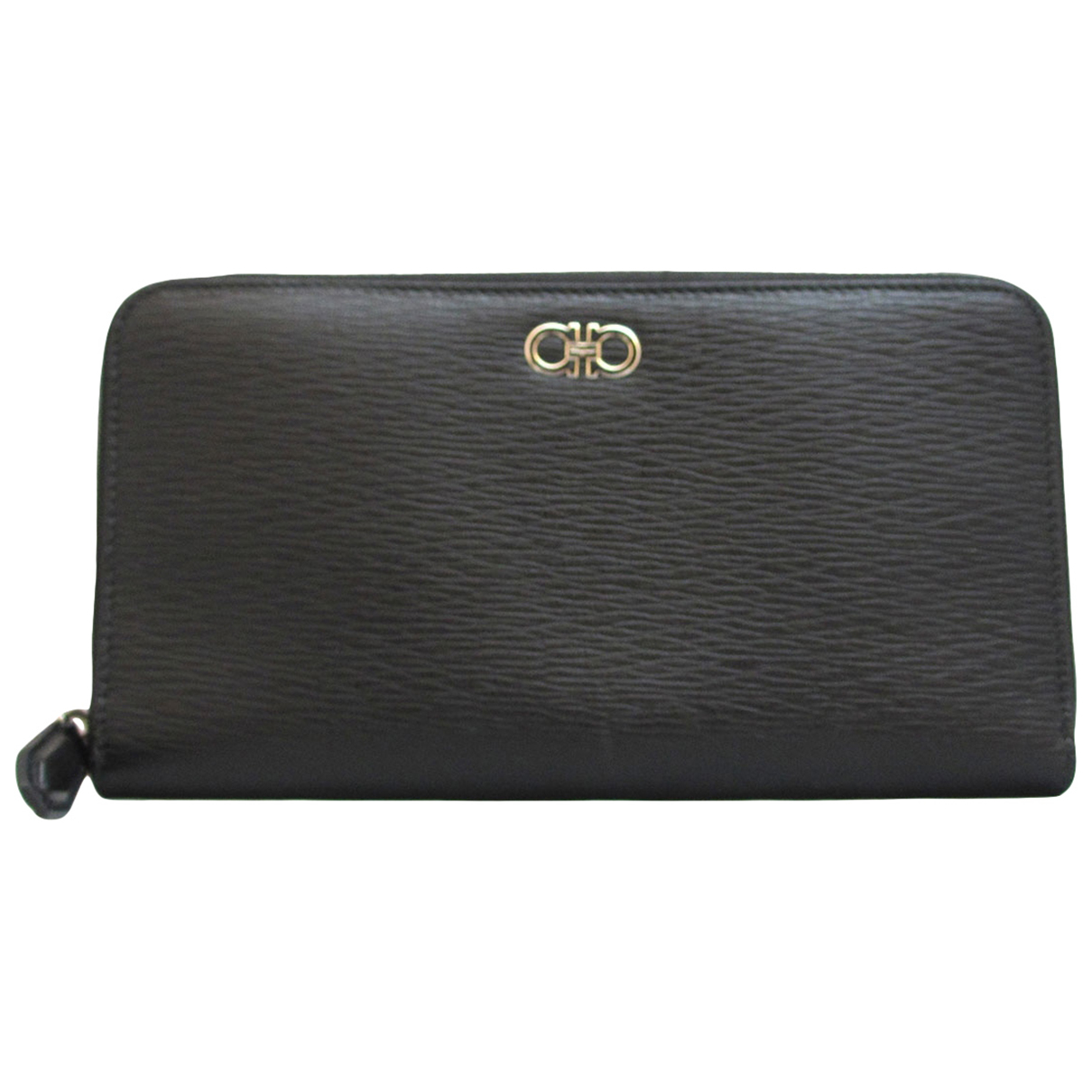 Salvatore Ferragamo \N Black Leather wallet for Women \N