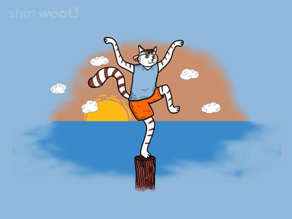 Karate Kitty T Shirt