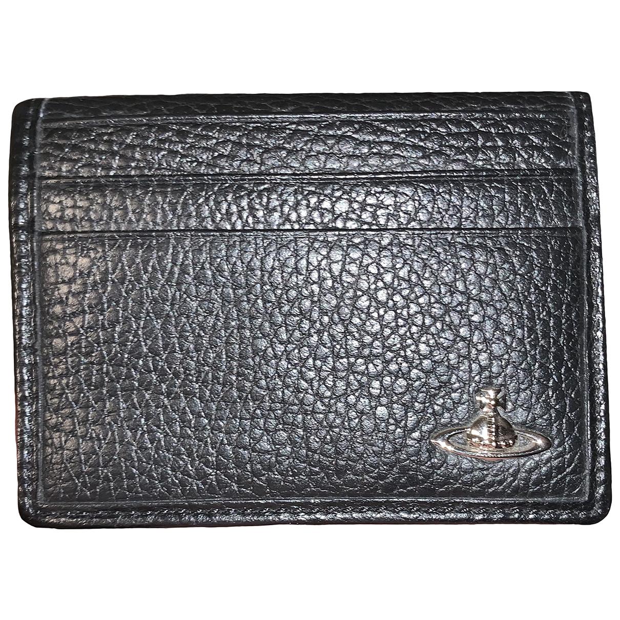 Vivienne Westwood N Black Leather Small bag, wallet & cases for Men N