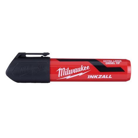 Milwaukee Inkzall™ Extra Large Chisel Tip Black Marker