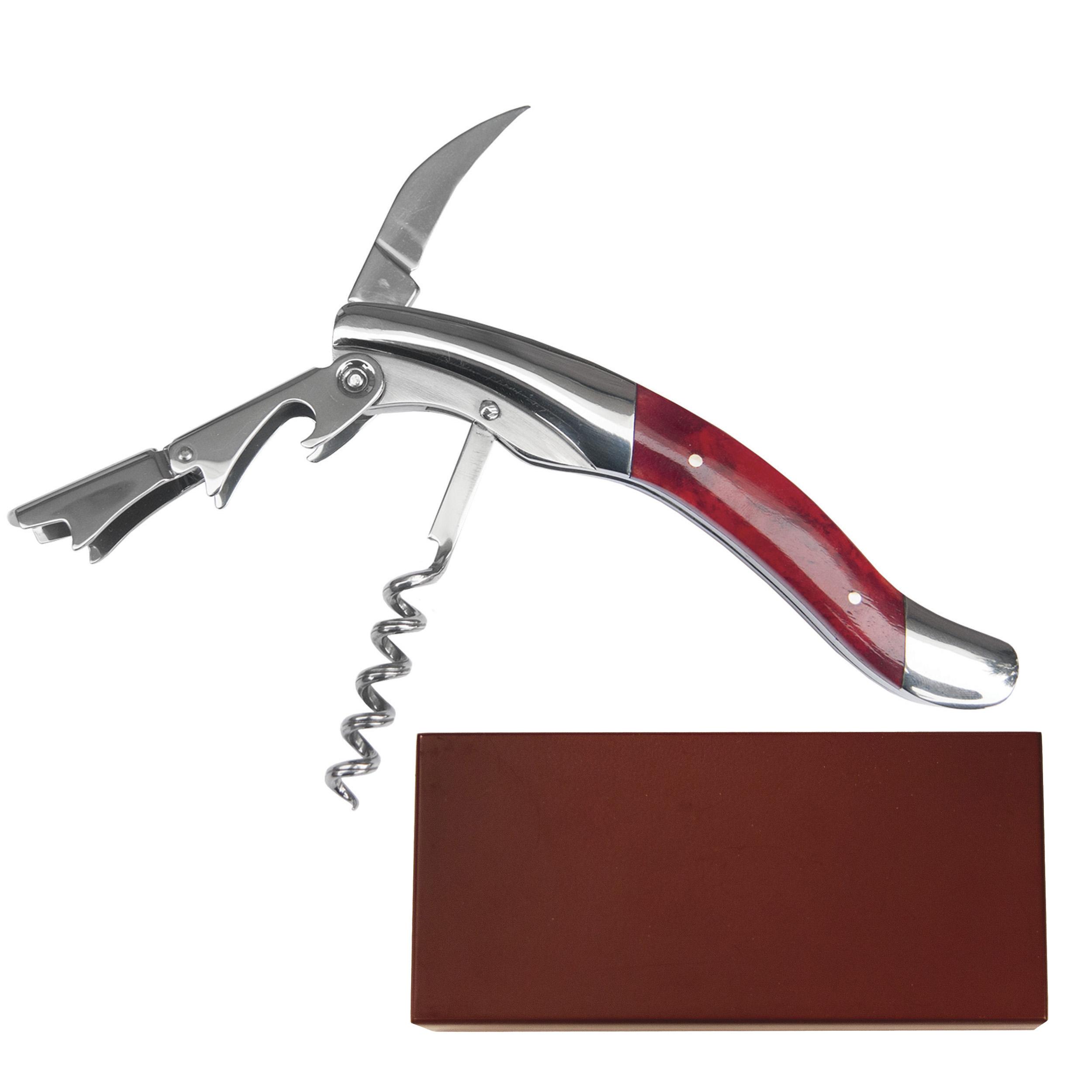 Cabernet - Red Bone Steward Wine Tool, Stainless Steel