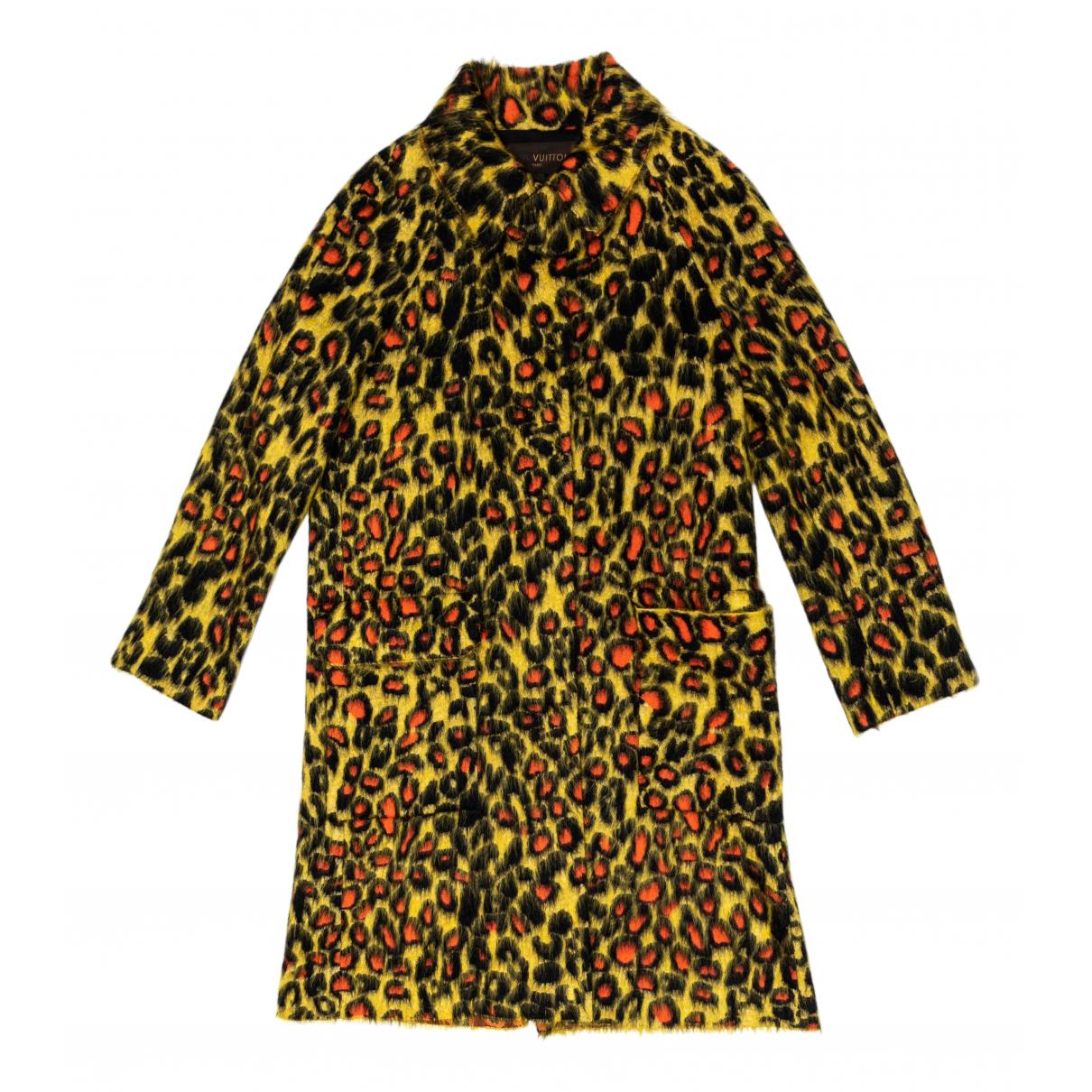 Louis Vuitton - Manteau   pour femme en laine - multicolore