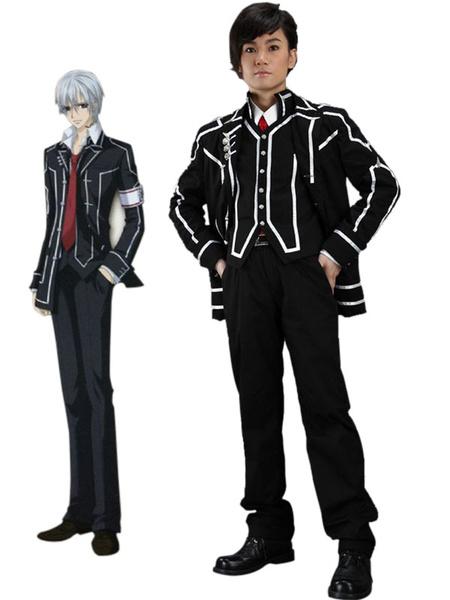 Milanoo Halloween Uniforme negro para Cosplay de Vampire Knight