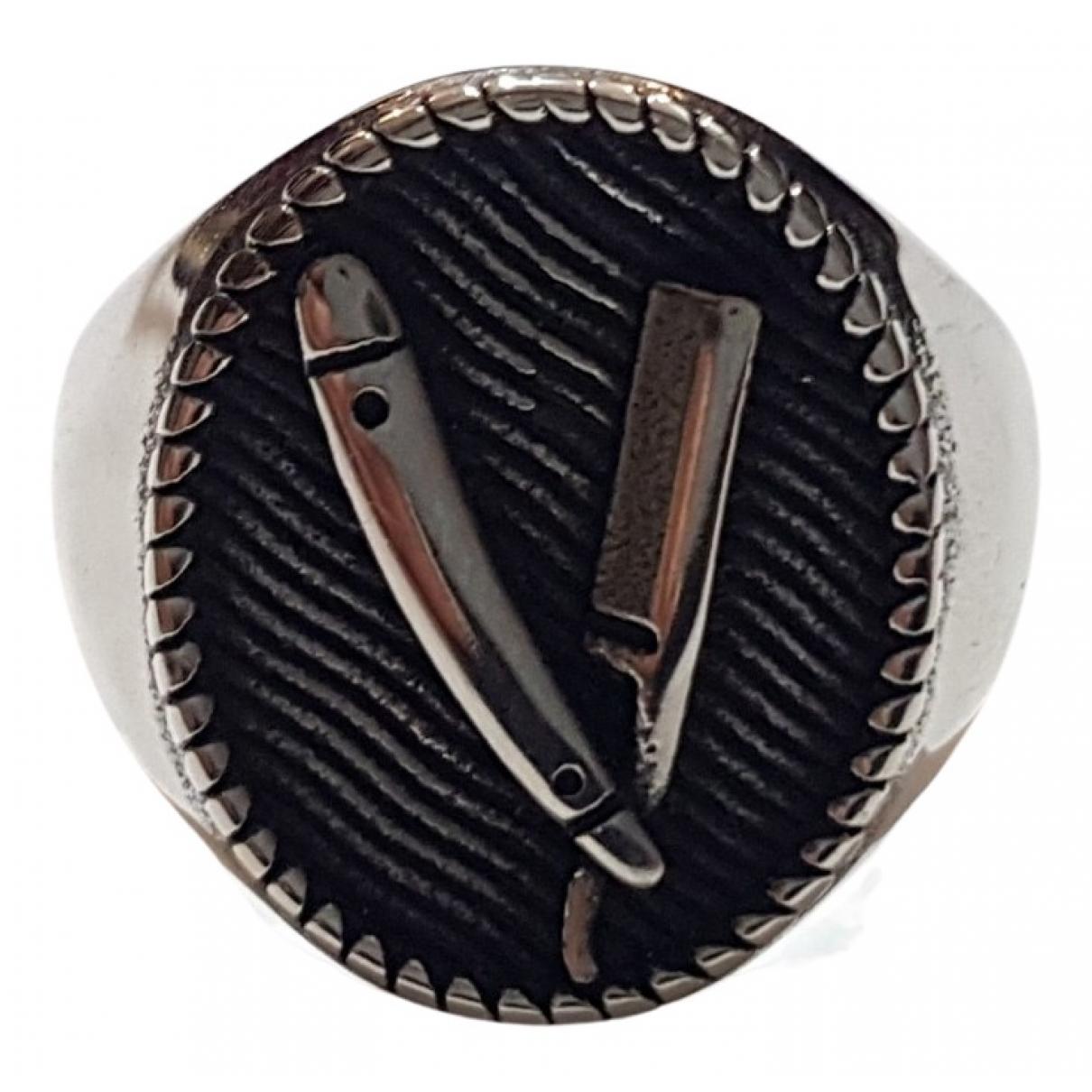 - Bijoux Chevalieres pour homme en acier - argente