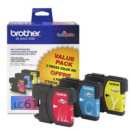 Brother MFC-5490CN originale couleur cartouches encre c/m/y, ensemble de 3 paquet