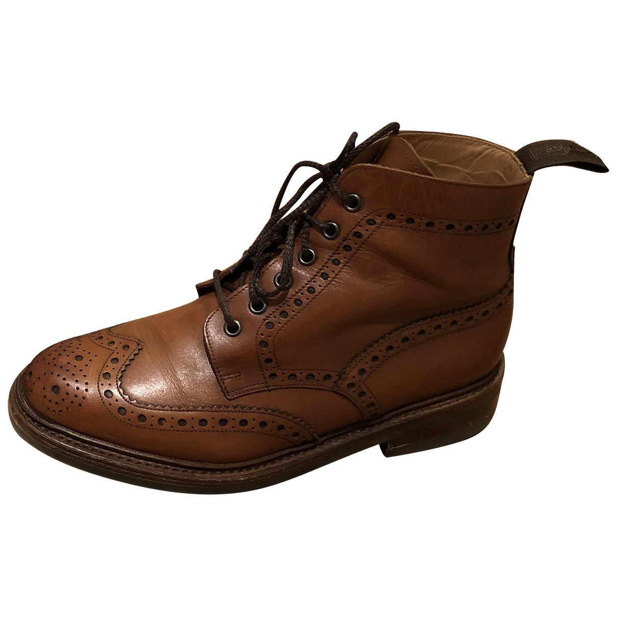 Loake \N Brown Leather Boots for Men 6 UK