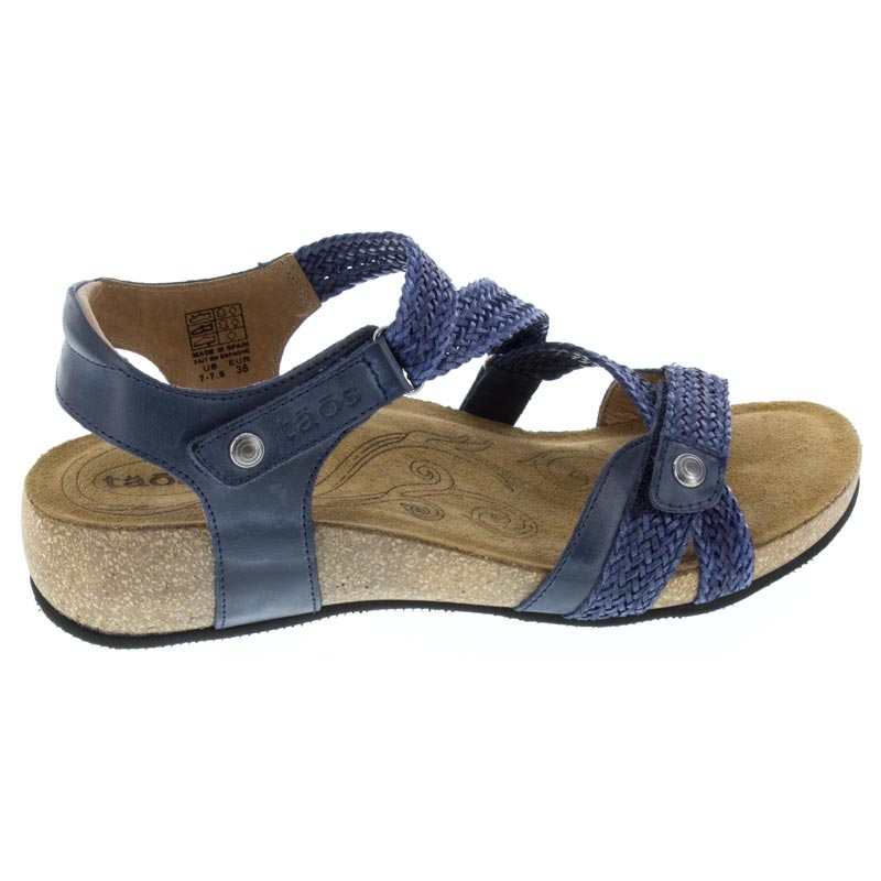 Taos Trulie Navy Leather 42