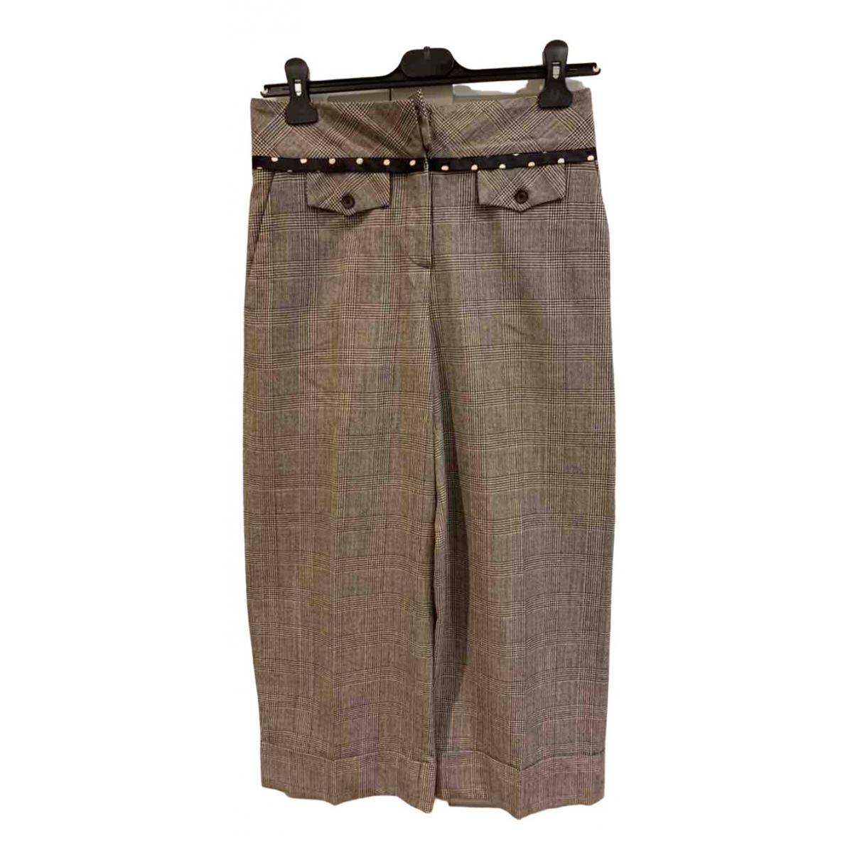 Pantalon largo de Lana Antonio Marras