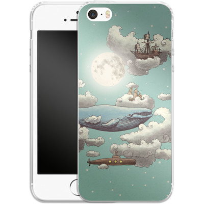 Apple iPhone 5 Silikon Handyhuelle - Ocean Meets Sky von Terry Fan