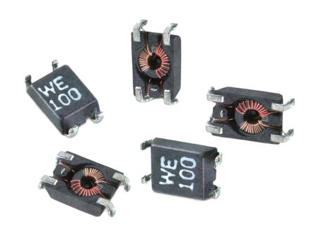 Wurth Elektronik Wurth, WE-SL1 Wire-wound SMD Inductor with a Ferrite Core, 47 μH ±50% Sectional Winding 300mA Idc (5)