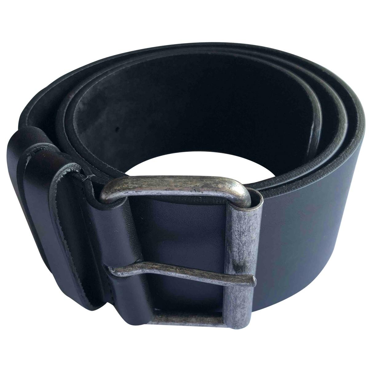 Aspesi \N Black Leather belt for Women 90 cm