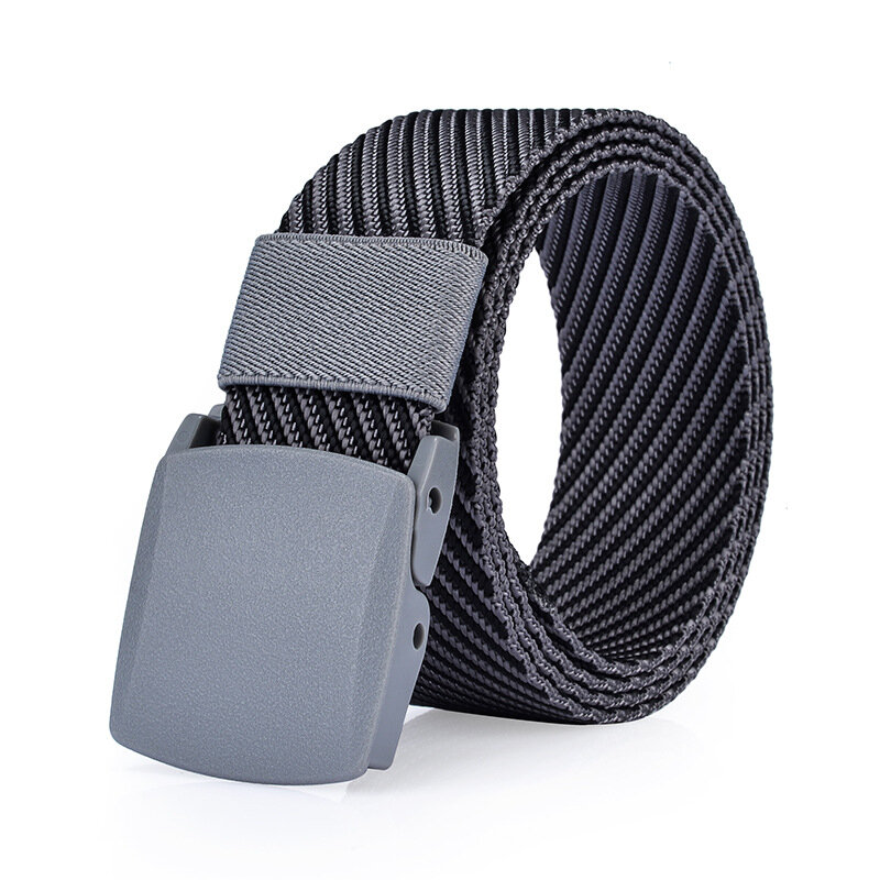 125CM Men Nylon Belt Resin Buckle Outdoor Sport Military Tactical Durable Pants Strip