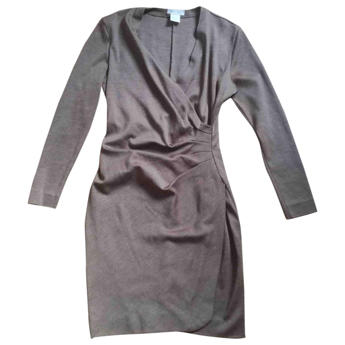 Max Mara \N Camel Wool dress for Women 42 IT