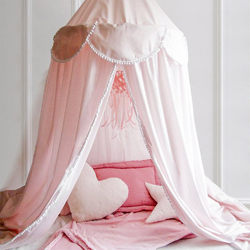 Dome Princess Dreamy Children Room Decorate for Baby Bed Mosquito Net Canopy