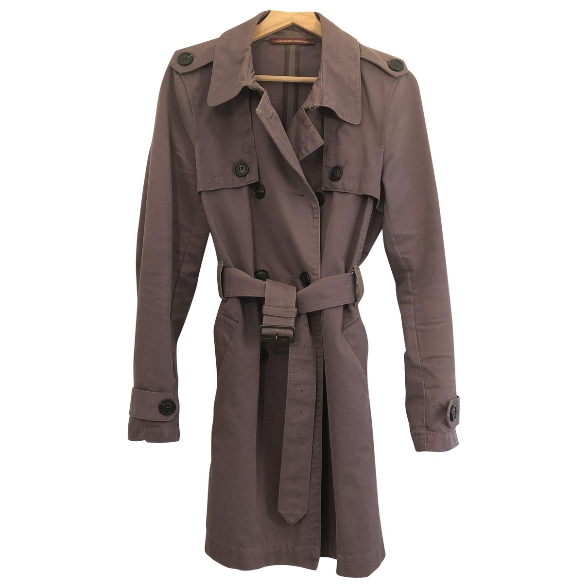 Comptoir Des Cotonniers \N Cotton Trench coat for Women 40 FR
