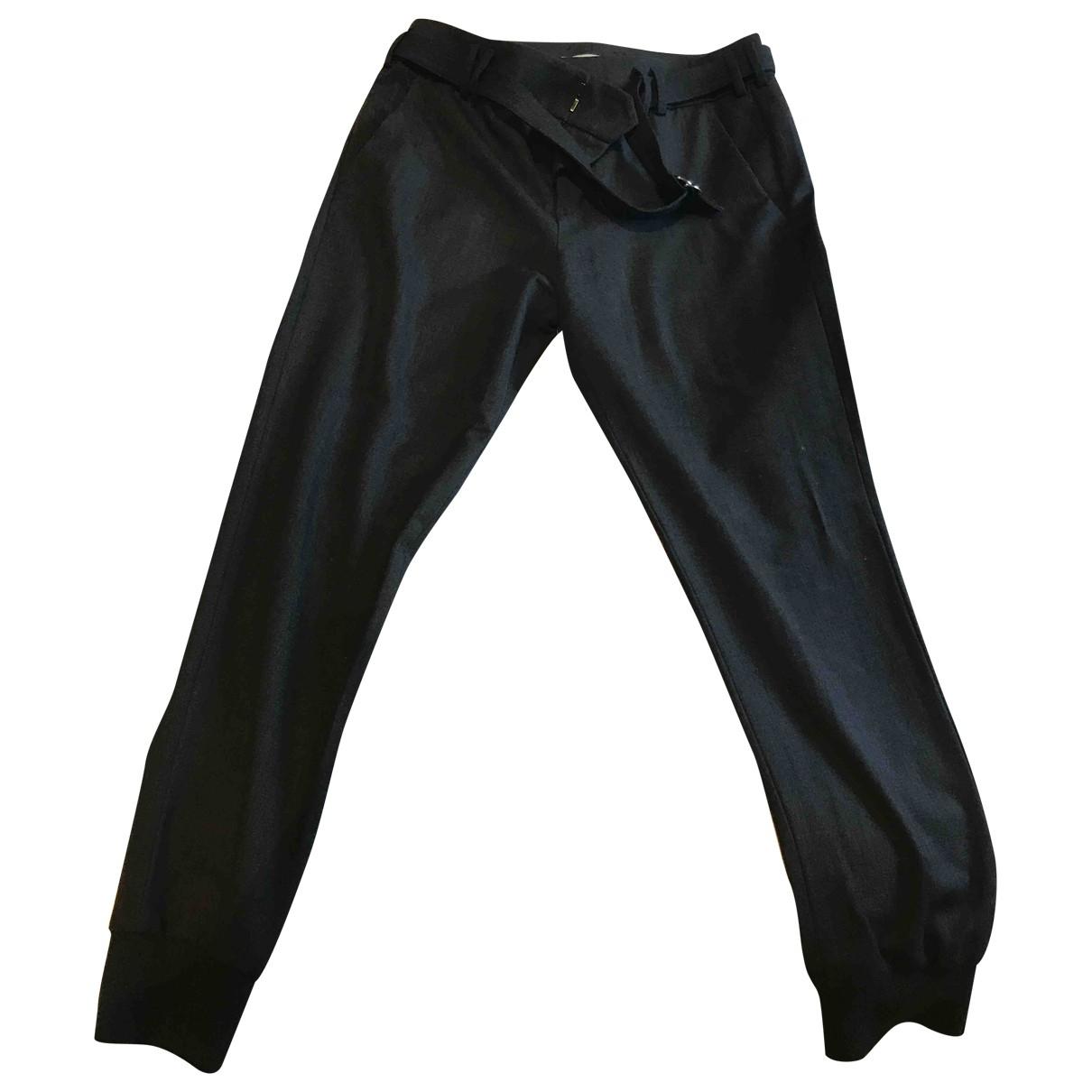 Vince \N Grey Wool Trousers for Women 8 US