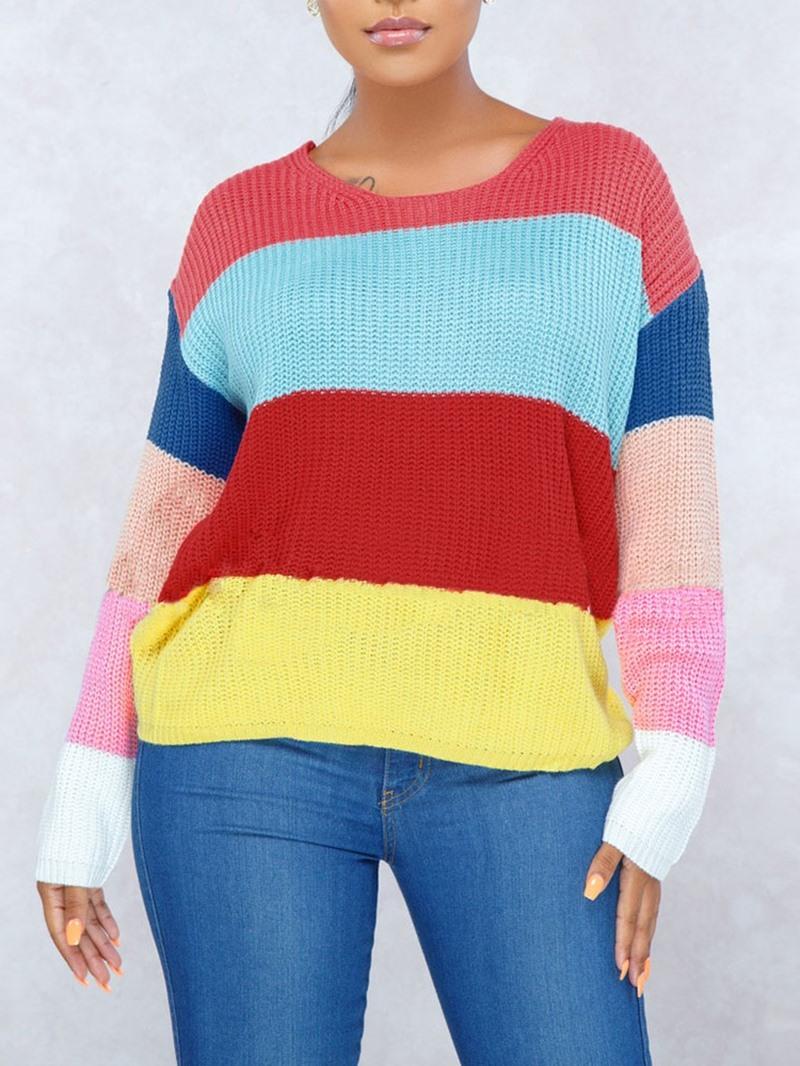 Ericdress Regular Long Sleeve Fall Womens Sweater